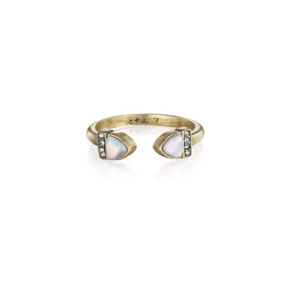 Chloe + Isabel Jewelry - Chloe + Isabel Lunette Open Band Ring